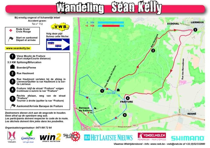 Parcours Sean Kelly Classic